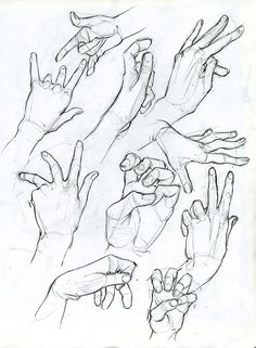 Hand Sketches by ArsonAnthemKJ on DeviantArt