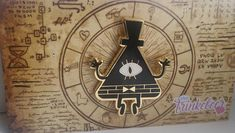 Gravity Falls Bill Cipher # 2 enamel pin - All About