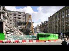BAM is building the new 110 Queen Street office development, in the heart of Glasgow. The Grade A office and retail development, developed by BAM Proper. Present Day, In The Heart, Glasgow, Louvre, Queen, Tv, Street, Building, Travel