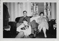 "Kenneth Clyde Davis, Harold and Gertrude Bruner and Harold Carson ""Buzz"" Bruner"