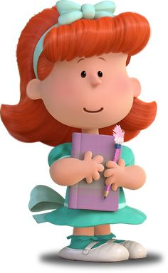 The Little Red-Haired Girl is an unseen character in the Peanuts comic strip by Charles M. Schulz, who serves as the object of Charlie Brown's affection, and a symbol of unrequited love. Peanuts Gang, Die Peanuts, Peanuts Movie, Peanuts Cartoon, Peanuts Characters, Cartoon Characters, Snoopy Love, Charlie Brown Snoopy, Charlie Brown Christmas