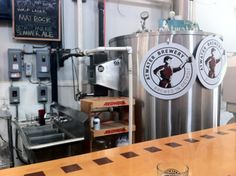Sit at the bar, surrounded by tanks of brew, and sip the delicious beer put out by Atwater Brewery. Tried a cherry stout that blew my mind: tart, fruity, deep and dark- and it all worked wonderfully. No flights, but they offer taste sizes of all beers.