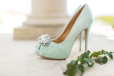 The Pastel Princess Pink Wedding Shoes, Wedding Heels, Bridal Shoes, Wedding Dresses, Mint Shoes, Blue Heels, Pastel Shoes, Next Wedding, Gold Wedding
