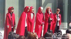141011 #보이프렌드 at Music Core Mini Fanmeeting #WITCH (cr: Hannahkou)