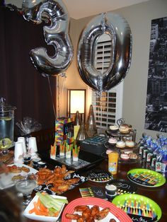 Husband's 30th birthday