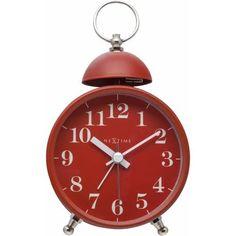 Tabletop Clocks, Metal, Red And White, Design, Home Decor, Products, Metals, Interior Design, Design Comics