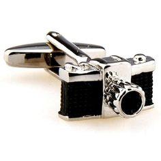 Camera Cufflinks by Cuff-Daddy
