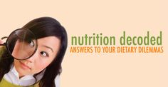 Nutrition decoded - answers to all your nutrition questions in college   University of New Hampshire. Student Health 101 Magazine, February 2015.
