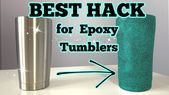 to Prep a Tumbler for Epoxy and Glitter Primer Spray Paint, Spray Painting, Diy Epoxy, Cricut, Vinyl, Diy Gifts, Helpful Hints, Prepping, Craft Projects