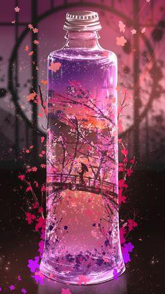 Anime Backgrounds Wallpapers, Anime Scenery Wallpaper, Landscape Wallpaper, Pretty Wallpapers, Cute Galaxy Wallpaper, Kawaii Wallpaper, Cool Galaxy Wallpapers, Disney Wallpaper, Foto Fantasy