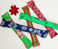 Catnip Kicker Cat Toys Holiday Christmas Gift Large Red Green Blue Snowflake Choice of One 11 Inches