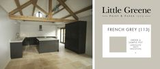 Interiors, Painting & Decorating: Little Greene - French Grey
