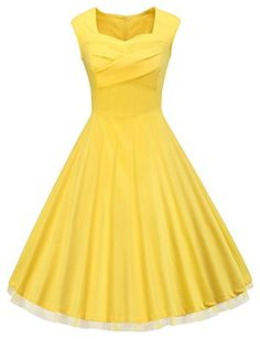 VOGVOG Women 1950s Retro Vintage Cap Sleeve Party Swing D... https://www.amazon.com/dp/B01FFD614U/ref=cm_sw_r_pi_dp_x_40CSxb8TJQ32X