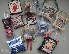 Stitching Dreams: It's beginning to look a lot like Christmas...