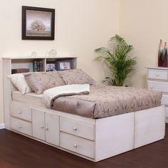 Under Bed Storage with headboard