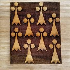 SCA / Historical Recreation Wood Block Multiple Repeating   Etsy