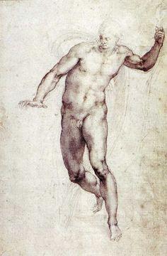 Michelangelo, Study for the Risen Christ