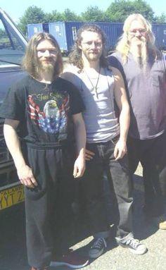 Bear, Bam Bam and Billy Brown. Check out the Chucks on Bam!  Joshua Bam Brown Alaska