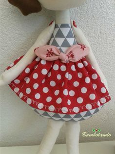 Bambolando: bambole di stoffa