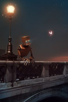 Adventures of a Lonely Robot by gunaars miezis, via Behance