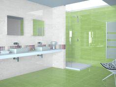 Colección Bouquet. Disponible en 20x60 cm. Acabado Brillante. Gloss surface finished. #bouquet #tauceramica #color #ceramica #tile #revestimiento #walltile #interiordesign #baño #bathroom www.tauceramica.com www.facebook.com/tauceramica