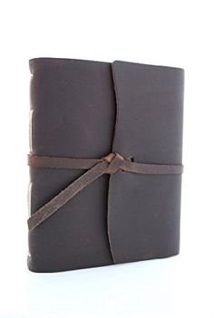 Rustico's Traveler Leather Journals to Write in, Hand Crafted Leather Softcover Writing Notebook With Wrap, Journal Notebook With 160 Rough Cut Pages, Antique and Vintage Look (Dark Brown) Review