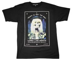 Death Is Not Real // Tee // Black