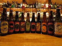 Selection of beers from Cooper's brewery.
