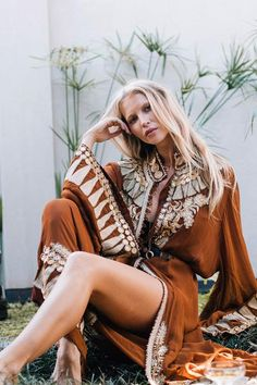 Boho Dresses Ethically produced, Shop Your limited-edition, Vintage style Dresses Here Online - Chasing Unicorns. Indie Fashion, Slow Fashion, Autumn Fashion, Vintage Fashion, Boho Summer Dresses, Boho Dress, Earthy Outfits, Chasing Unicorns, Mode Ootd