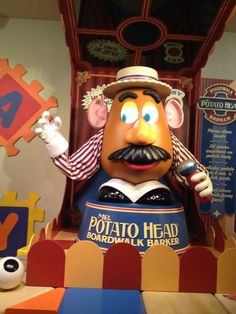 Mr Potato Head - Toy Story Mania - Disney Hollywood Studios