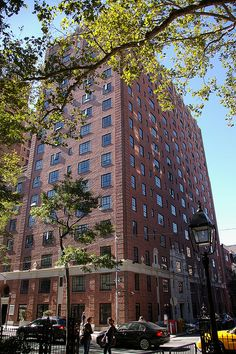 One of the New York University buildings on the edge of Washigton Square. NEW YORK CITY.   (by MalB, via Flickr