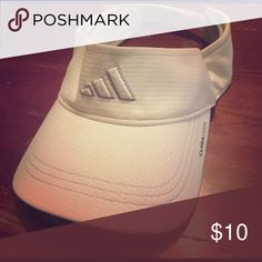 Adidas Visor White ClimaCool Adidas Accessories Hats