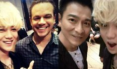 """Luhan recently updated fans with pictures alongside his co-stars of the upcoming movie """"The Great Wall."""" On July 2, Luhan shared photos with Hollywood actor Matt Damon as well as Hong Kong singer-actor Andy Lau on his personal Weibo account. In the uploaded photos, which were taken at the press conf..."""