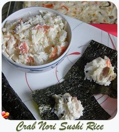 Local style imitation crab sushi rice casserole. Great for potlucks. Get more Hawaiian and local style recipes here.