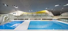 Architizer Blog » Oops! Design Flaw In Zaha's Olympic Aquatic Center Could Lead To 4,800 Ticket Refunds