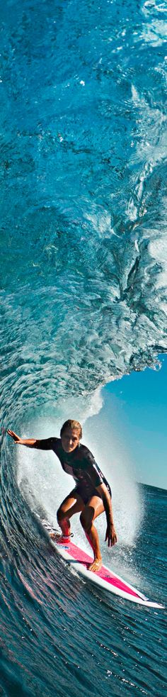 Steph in the #wave #surf