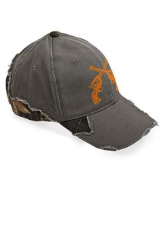 Our frayed camo hat features the frayed 8d8360ed8742