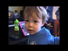 Will uses a Talker, part 3 - from Uncommon Sense by Dana Gaeckle Nieder - AAC by 18 Months. WIll is almost 17 months.