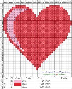 Brilliant Cross Stitch Embroidery Tips Ideas. Mesmerizing Cross Stitch Embroidery Tips Ideas. Cross Stitch Embroidery, Cross Stitch Patterns, Cross Stitch Heart, Graph Paper, Heart Patterns, Crochet Bikini, Crafts, Plastic Canvas, Beading