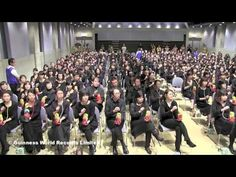 "Matryomin ensemble set the world record for the ""Largest theremin ensemb..."
