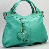 Teal Oversized Handbag