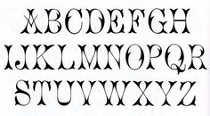 western black and white clip art | One of my favorite websites for free fonts is www.dafont.com . But ...