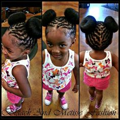 Phenomenal Pigtail Pigtail Buns And Braided Pigtails On Pinterest Short Hairstyles For Black Women Fulllsitofus