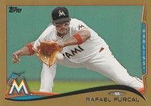 2014 Topps Baseball Gold #506 Rafael Furcal - Miami Marlins