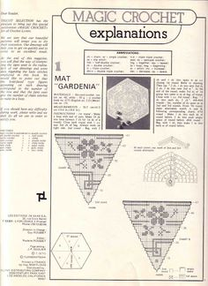 Magic Crochet Nº 13 - Edivana - Picasa Web Albums