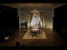 Dreams of Falling, Dreams of Flying. Atlantic Theater Company. Scenic design by Andrew Boyce and Takeshi Kata. 2011