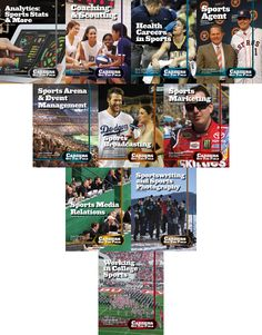 Careers Off the Field Fall 2015 Set of 10 Books