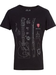 Shop Osklen guitar blueprint T-shirt in Destination Brazil from the world's best independent boutiques at farfetch.com. Over 1000 designers from 60 boutiques in one website.