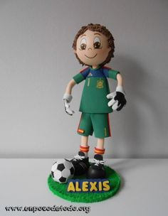 www.unpocodetodo.org - Fofucho futbolista de Alexis - Fofuchas - Goma eva - crafts - foami - foamy - football - futbol - goalkeeper - iker casillas - manualidades - portero - soccer - 1