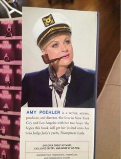 "Amy Poehler's author photo for her new book ""Yes Please"" is everything I dreamed it would be..."